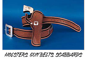 custom leather holsters, cunbelts, scabbards